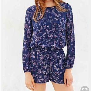 Urban Outfitters Lucca Couture open back romper